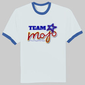 "Team Mojo men's t-shirt with ""I'm in my MOJO, Are you?"""