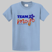 "Tall Men's Team Mojo T-shirt with ""I'm in my mojo, are you?"""