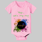 Pink/ White The Magic of Mojo® Onesie