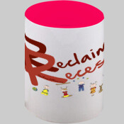 Reclaim Recess Mug - red